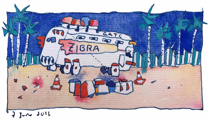ZiBRA bus by Matt Cotten